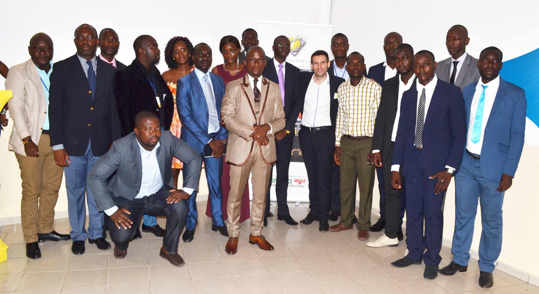 Lydia Ludic Côte d'Ivoire a récompensé ses agents pour la fête du travail