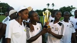 L'équipe Lydia Ludic Côte d'Ivoire Logistique Technique a remporté la 1ère édition de la « Coupe Francis PEREZ pour la cohésion sociale »