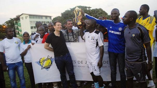 Lydia Ludic Côte d'Ivoire a organisé la 1ère édition de la « Coupe de Football du Président Francis PEREZ pour la cohésion sociale »