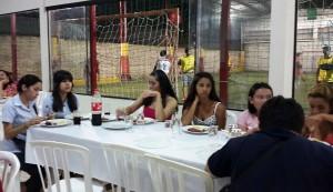 Lydia Ludic Paraguay organizó una tómbola para sus empleados en el contexto del 1er de mayo