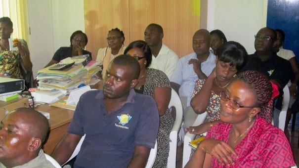 Lydia Ludic Togo a formé ses employés pour les sensibiliser aux origines de la fête du 1er mai
