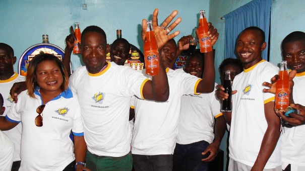 Lydia Ludic Burkina Faso a animé son Espace de Jeux et de Loisirs du quartier Sikassossira, à Ouagadougou