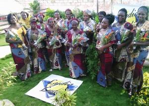 2015-06- Lydia Ludic Bénin famille célébration fête des mères parakou 2