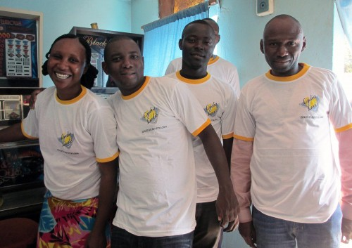 Lydia Ludic Burkina Faso a animé son Espace de Jeux et de Loisirs du quartier Koko, à Bobo-Dioulasso