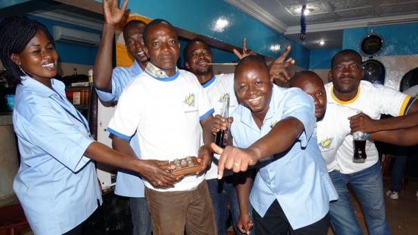 Lydia Ludic Burkina Faso a animé un de ses Espace de Jeux et de Loisirs du quartier Koko, à Bobo-Dioulasso