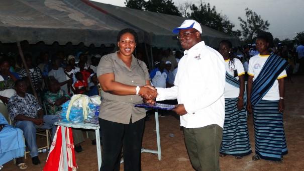 Cérémonie officielle de remerciement à Lydia Ludic Burkina Faso pour ses actions en faveur des populations locales de la province de Balé