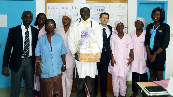 Pour la fête des Mères, Lydia Ludic Côte d'Ivoire a fait un don aux nouvelles mères de l'hôpital de Marcory