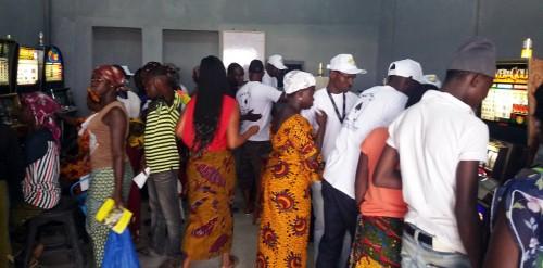 Inauguration Lydia Ludic Côte d'Ivoire de son Espace de Jeux et de Loisirs à Ferkessédougou