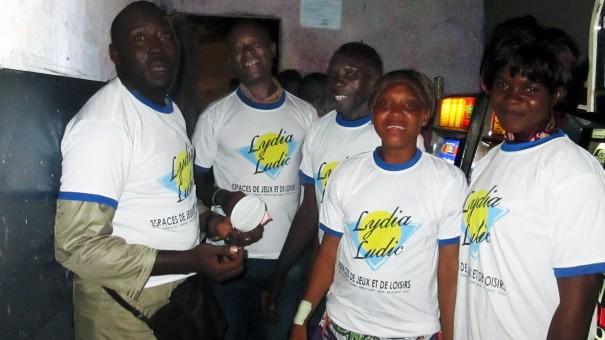 Lydia Ludic Togo a animé son Espace de Jeux et de Loisirs du bar partenaire Champs-Elysées 2, dans le quartier Agoè à Lomé