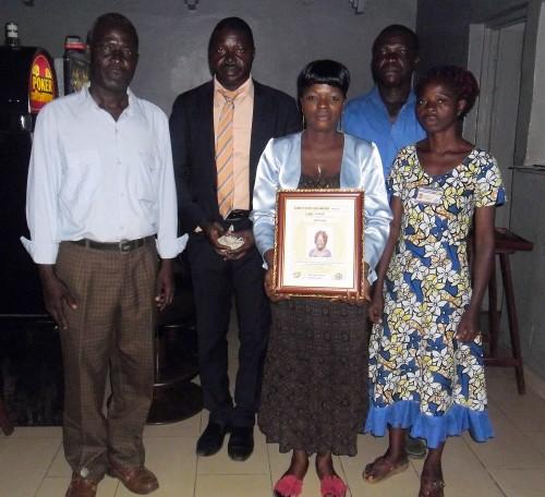 BRUKUM Kossiwa Edem, un des employés du mois de mai de Lydia Ludic Togo