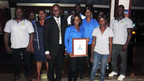 Les employés du mois de mai de Lydia Ludic Togo