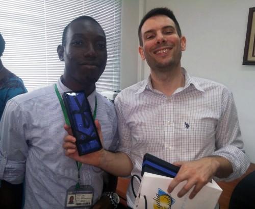 Lydia Ludic Côte d'Ivoire a célébré la Fête des Pères avec ses agents
