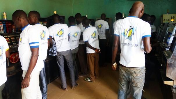 Animation Lydia Ludic Burkina Faso de l'Espace de Jeux et de Loisirs du quartier Somgandé à Ouagadougou