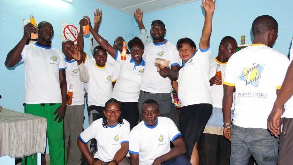 Animation Lydia Ludic Burkina Faso de l'Espace de Jeux et de Loisirs du quartier Koko, à Bobo-Dioulasso