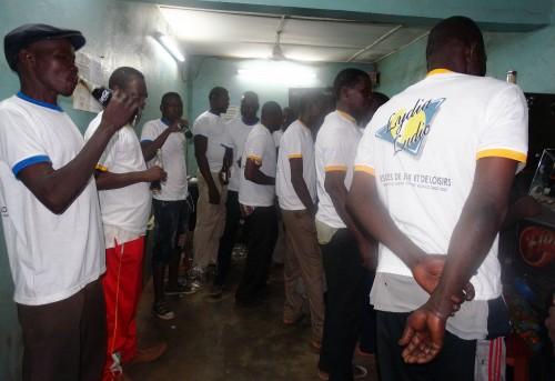 Animation Lydia Ludic Burkina Faso de l'Espace de Jeux et de Loisirs du Secteur 06, à Diébougou