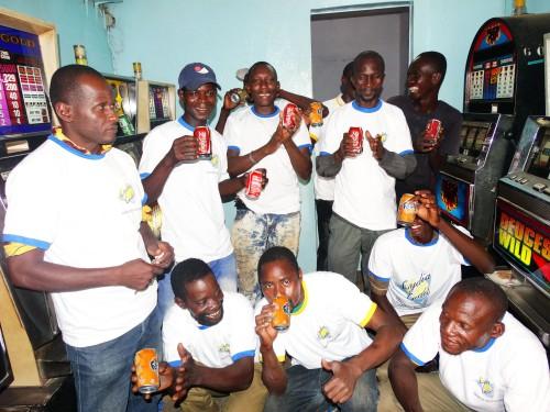 Lydia Ludic Burkina Faso a animé son Espace de Jeux et de Loisirs du quartier Noncin, à Ouagadougou