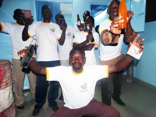 Lydia Ludic Burkina Faso a animé son Espace de Jeux et de Loisirs du quartier Colsama, à Bobo-Dioulasso