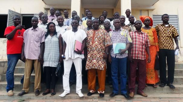 Rencontre à Bobo-Dioulasso du Bureau Exécutif de la Mutuelle des Travailleurs de Lydia Ludic Burkina Faso avec le personnel de la région de l'Ouest