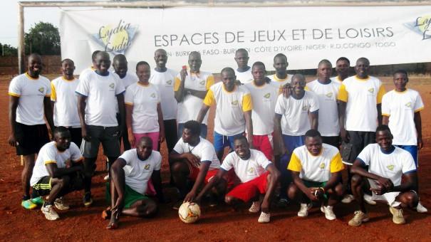 Tenkodogo : les agents Lydia Ludic de la région de l'Est se sont retrouvés pour un match de football