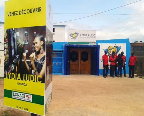 Lydia Ludic Côte d'Ivoire a rénové son Espace de Jeux et de Loisirs situé dans le quartier Garahio à Gagnoa