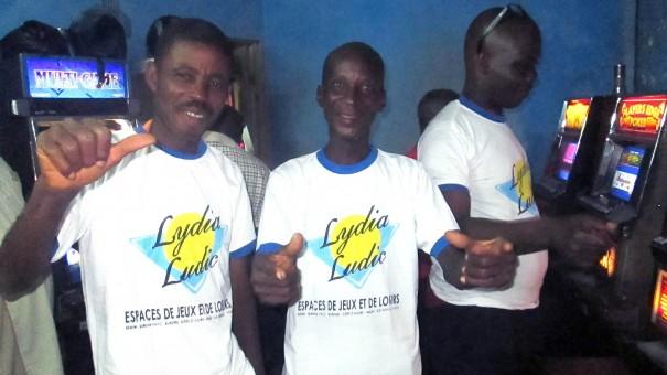 Animation Lydia Ludic Togo de l'Espace de Jeux et de Loisirs situé dans le bar partenaire Brillance Stars, dans le quartier Bè Gakpoto de Lomé