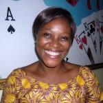 AMAÏZO Ayélé, Chef d'équipe de l'Espace de Jeux et de Loisirs du quartier Ramco (Lomé) et employée du mois de juin