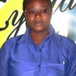KPANZOU Tchilahalo, Serveuse de l'Espace Prestige Mozart (quartier Assivito, Lomé) et employée du mois de juin