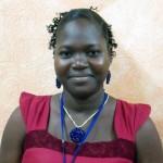 N'ZONOU Kougnonwa, Caissière de l'Espace de Jeux et de Loisirs du quartier Akodésséwa (Lomé) et employée du mois de juin