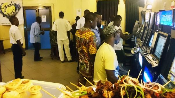 Animation Lydia Ludic Bénin de l'Espace de Jeux et de Loisirs du quartier Akpakpa de Cotonou