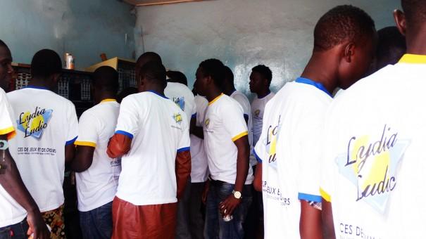 Lydia Ludic Burkina Faso a animé son Espace de Jeux et de Loisirs du quartier Somgandé, à Ouagadougou