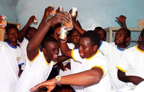Moment de pur bonheur lors de l'animation Lydia Ludic Burkina Faso de l'Espace de Jeux et de Loisirs du quartier Somgandé, à Ouagadougou
