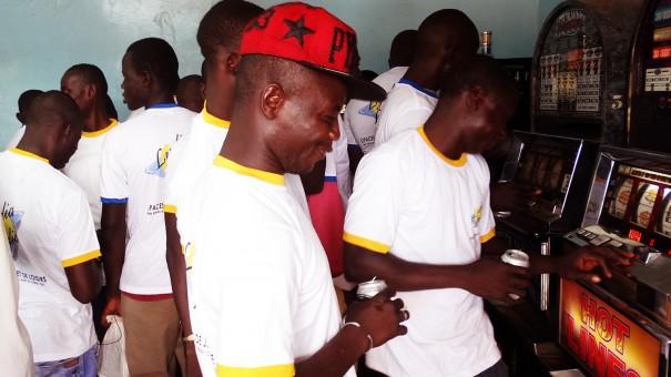 Lydia Ludic Burkina Faso a animé son Espace de Jeux et de Loisirs du quartier Kilwin, à Ouagadougou