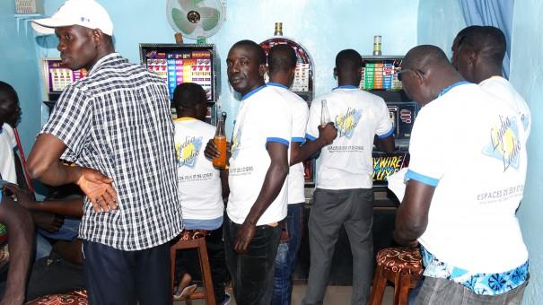 Animation Lydia Ludic Burkina Faso de l'Espace de Jeux et de Loisirs du quartier Lafiabougou, à Bobo-Dioulasso