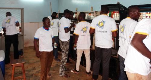 Animation Lydia Ludic Burkina Faso de l'Espace de Jeux et de Loisirs du quartier Zone 1 de Ouagadougou