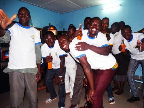 Animation Lydia Ludic Burkina Faso de l'Espace de Jeux et de Loisirs du quartier Bindougousso, à Bobo-Dioulasso