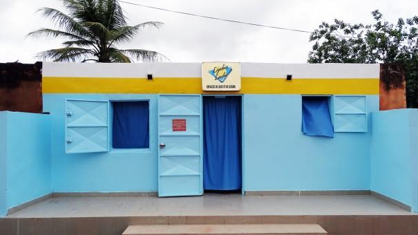 Lydia Ludic Burkina Faso a rénové son Espace de Jeux et de Loisirs du quartier Lafiabougou de Bobo-Dioulasso