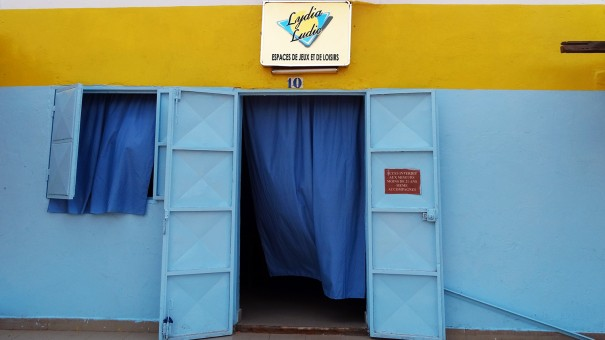 Lydia Ludic Burkina Faso a rénové son Espace de Jeux et de Loisirs du quartier Bindougousso de Bobo-Dioulasso