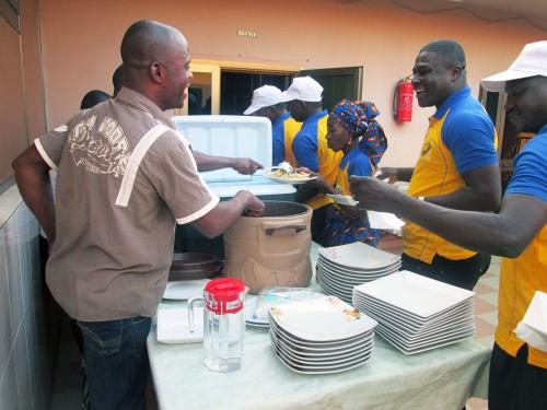 Lydia Ludic Bénin a célébré la fête de l'Indépendance du Bénin avec ses agents - Repas convivial