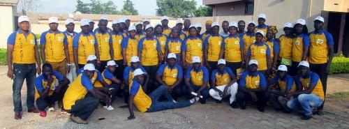 Lydia Ludic Bénin a célébré la fête de l'Indépendance du Bénin avec ses agents