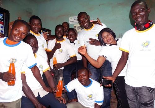 Lydia Ludic Burkina Faso a animé son Espace de Jeux et de Loisirs du quartier Nieneta de Bobo-Dioulasso
