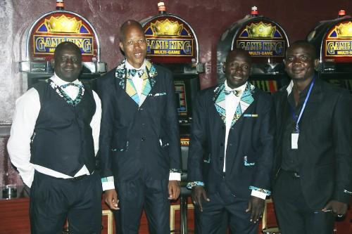 Les croupiers Lydia Ludic du nouvel Espace Prestige Chauvignac à Niamey