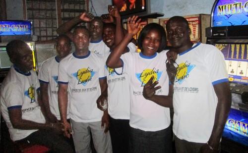Animation Lydia Ludic Togo de l'Espace de Jeux et de Loisirs situé dans le bar partenaire Ben City, dans le quartier Bè de Lomé