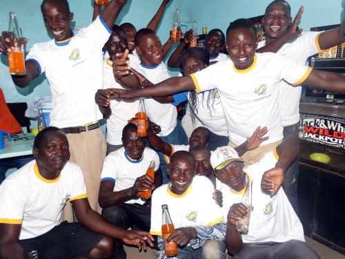 Animation Lydia Ludic Burkina Faso de l'Espace de Jeux et de Loisirs du quartier Colsama de Bobo-Dioulasso