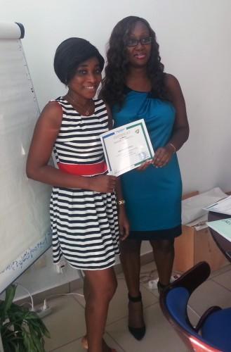 Les agents de Lydia Ludic Côte d'Ivoire en formation sur le management des équipes (par le cabinet GERASSUR)