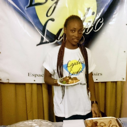Animation Lydia Ludic Bénin de l'Espace de Jeux et de Loisirs du quartier Nadjo de Porto-Novo