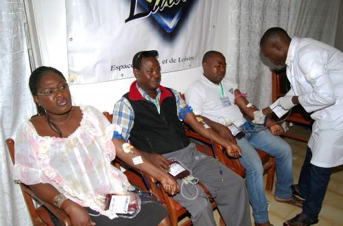 Les employés de Lydia Ludic Bénin ont donné leur sang