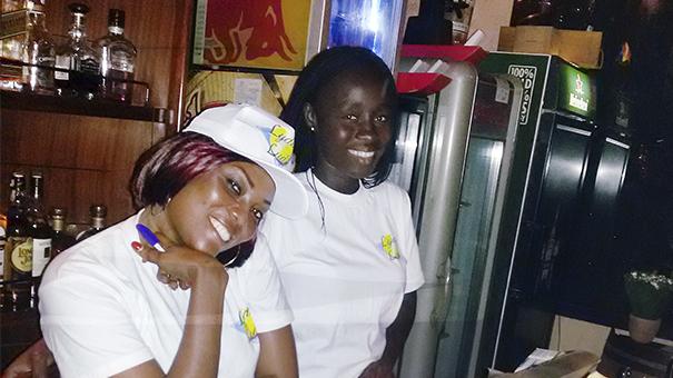 Animation Lydia Ludic Côte d'Ivoire de l'Espace de Jeux et de Loisirs situé dans le bar partenaire Che Café, situé en Zone 4 de la commune de Marcory à Abidjan