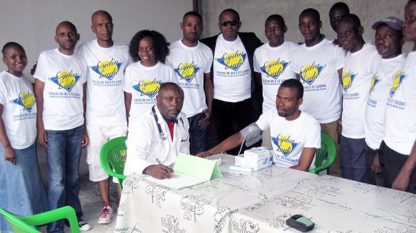 Lydia Ludic RDC s'est joint à la Movember Foundation pour changer le visage de la santé masculine en République Démocratique du Congo