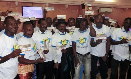 Lydia Ludic Togo s'est joint à la Movember Foundation pour changer le visage de la santé masculine au Togo