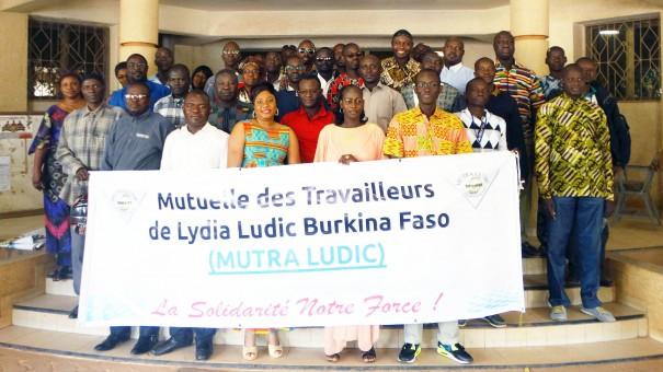 Ouagadougou : Assemblée Générale de la MUTRA Ludic, la mutuelle de solidarité pour les employés de Lydia Ludic Burkina Faso